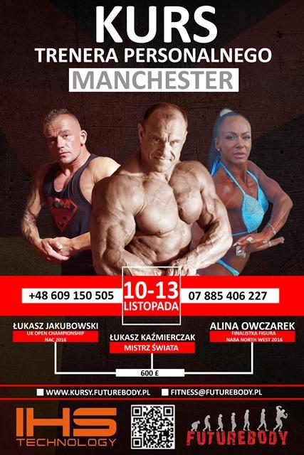 Manchester Kurs Trenera Personalnego