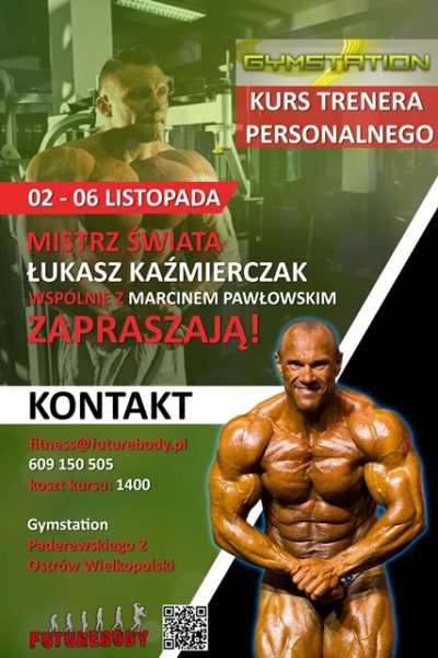 Ostrow Wielkopolski Kurs Trenera Personalnego