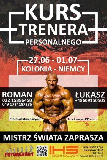 Kolonia (Niemcy) Kurs Trenera Personalnego