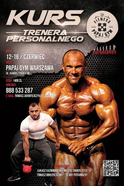 Kurs Trenera Personalnego Warszawa